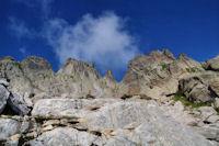 Jolie crete entre le Pic de Batboucou et le Col d'Artouste