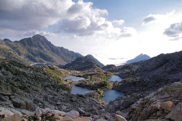 Les Laccarats et le Lac de Migouélou