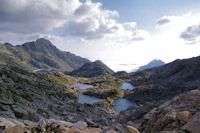 Les Laccarats et le Lac de Migouelou