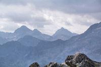 Pic de Cambales, Pene d'Aragon et Grande Fache