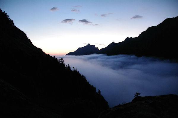 Mer de nuage, le Pic du Midi d_Arrens pointe son nez!