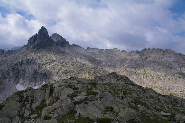 Pic Cadier, Courouaou et Pic de Batboucou