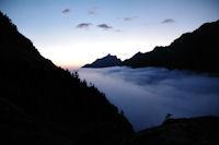 Mer de nuage, le Pic du Midi d'Arrens pointe son nez!