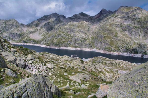 Le Lac et le Refuge de Migouélou