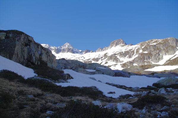 Le Balaïtous et le glacier du Pabat