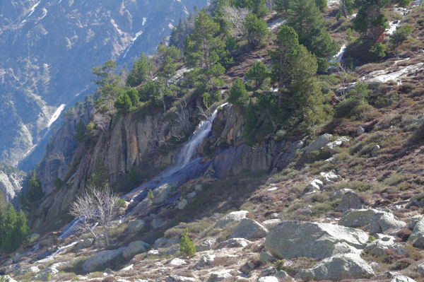 La cascade du Bédat