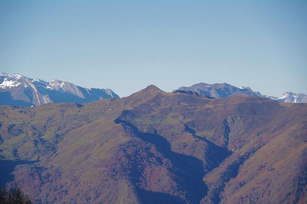 Le Soum de Grum au dessus du Col d_Aubisque