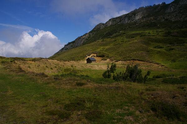 La cabanne du Col de Cantau