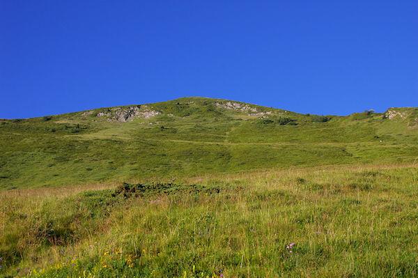 Le Pic de Bergons depuis le Barradé