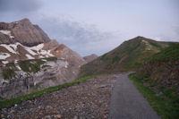 Le Port de Boucharo depuis le Col de Tentes