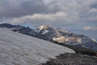 Le Mont Perdu dans le soleil