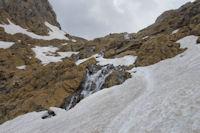 Les cascades du Glacier du Taillon
