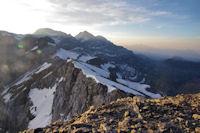 Le Mont Perdu depuis la Tour du Marbore
