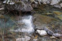 Petite cascade dans le gave d'Arrens