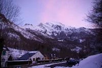 Couleurs du soir au dessus du Pic du Midi d'Arrens