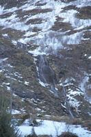 Les cascades du ruisseau de la Yega