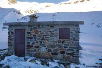 La Cabane de Bouleste, derriere le Pic de Louesque