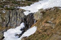 Petite cascades descendant de Trabié Nère