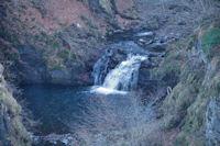 Cascades sur le Tech sous le barrage