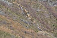 Cascades sur le ruisseau de la Yega