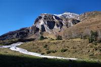 L_avalanche de Boey Débat, au dessus, Anquié