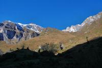 La vallée du ruisseau de Labardau, une des voies possibles pour monter au Grand Gabizos