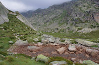 Au départ du vallon des lacs de Cambalès