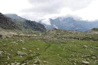 Au depart du vallon des lacs de Cambales