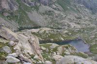 Les trois Lacs inférieurs de Cambalès