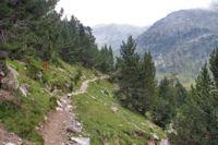 Le chemin vers le refuge Wallon