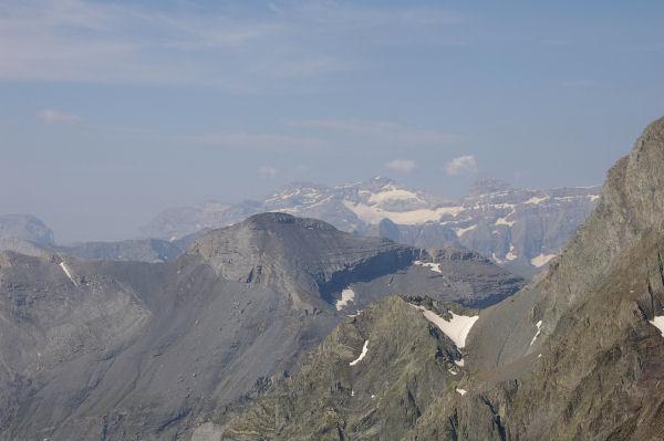 Le Mont Perdu et le pic du Marboré