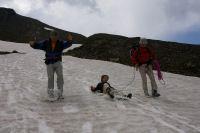 La descente du pic de Campbieil sur les neves (sur les fesses pour certains)
