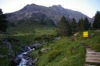 Au depart du vallon d'Estaragne