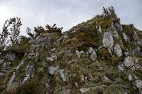 Un petit ressaut sur la crete du Pic de Cantau