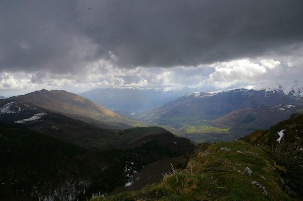 Le Val d_Azun depuis le Pic de Berbeillet