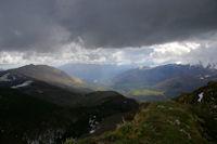 Le Val d'Azun depuis le Pic de Berbeillet