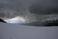 Une belle averse sur le Val d'Azun
