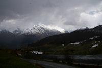 Le Pic du Midi d'Arrens depuis le parking de la Couraduque