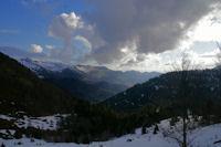 La Vallee du Bergons depuis le Col de Bazes