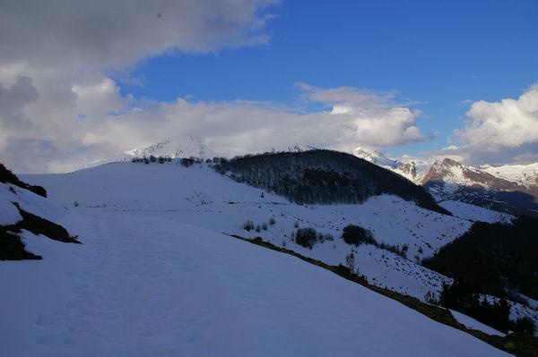 Le débonnaire Pic de Cantau depuis le Col de Bazès
