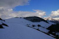 Le debonnaire Pic de Cantau depuis le Col de Bazes