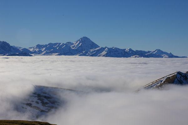 Le Pic du Midi de Bigorre depuis le Cap Nestès