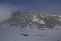Un sommet se degage pres du Col de Nestes