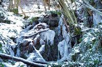 Ambiance glacée sous le Tuc de Picou