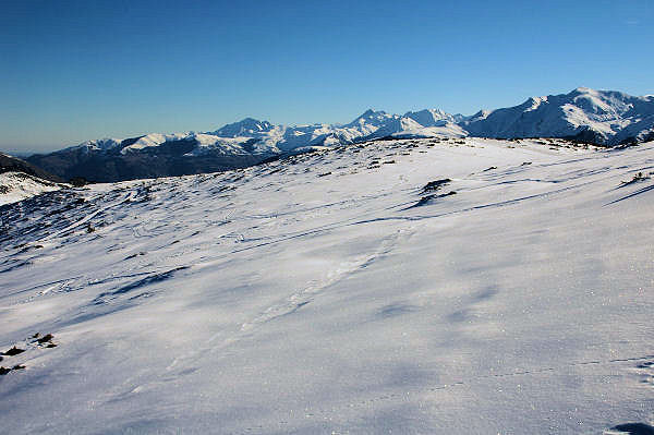 Au centre, le Pic du Midi de Bigorre