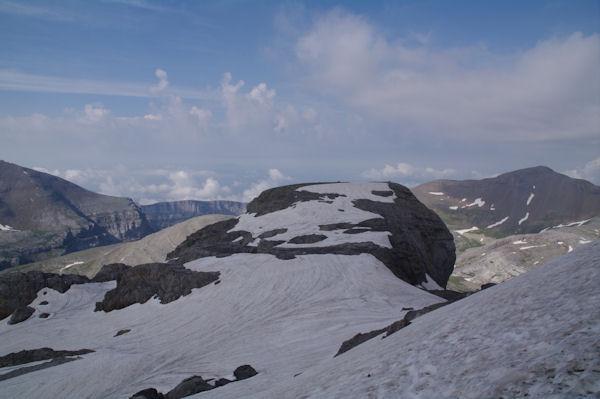 Le Col des Isard et le Pic Anonyme