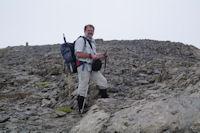 Fred au sommet du Casque du Marbore