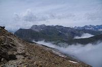 La route de Col de Tentes au Port de Boucharo