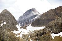 Le Casque de Marbore depuis le Col de Tentes
