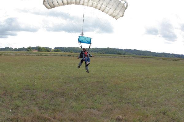 Camille à l_atterrissage